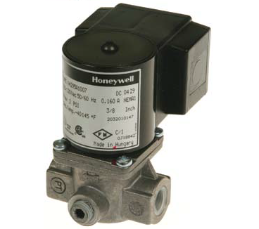 "Honeywell V4295A1106 Solenoid Valve 120V Normally Closed 5psi 1/2"" NPT"