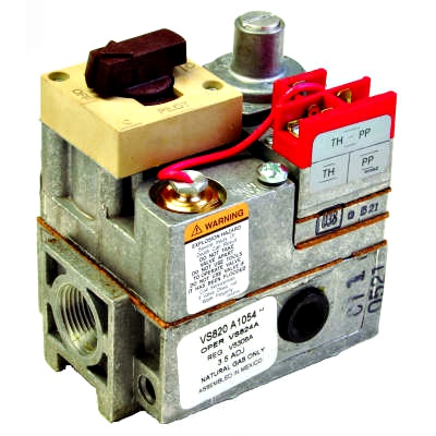 Honeywell VS820A1336 Combination Millivolt Gas Valve 3/4
