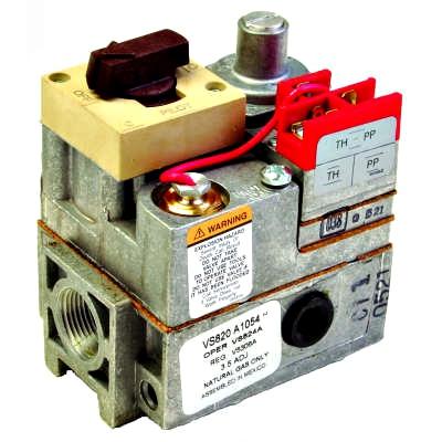 Honeywell VS820C1100 Combination Step Opening Millivolt Gas Valve