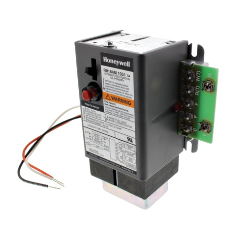 Honeywell R8184M1051 Series 80 Protectorelay Oil Burner Control with transformer