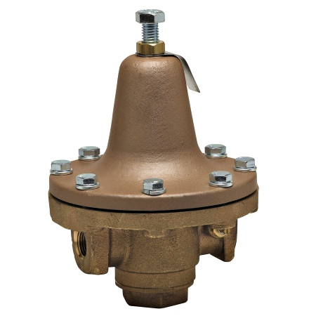 "Watts 0840000 Bronze Process Steam Pressure Regulator 1"" 30-140psi 252A"