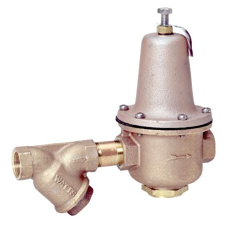 """Watts 0298581 High Capacity Water Pressure Reducing Valve 1 1/2"""" LF223-S-LP"""