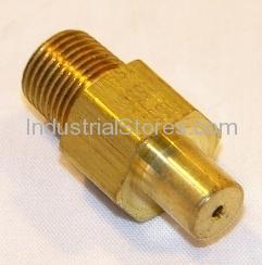 Reznor 61653 Orifice Plug 1.55 MM-Brass