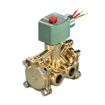 """Asco 8316G26-24V Pilot Operated Air & Water 3-Way Solenoid Valve 1/2"""" Normally Open 10-250 PSI"""