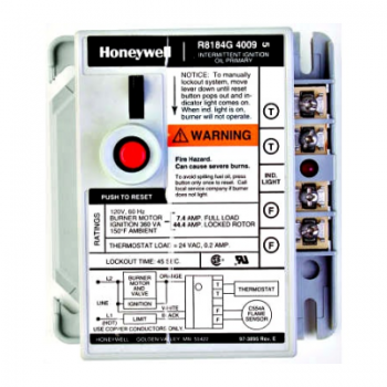 Honeywell R8184G4082 Protectorelay Oil Burner Control