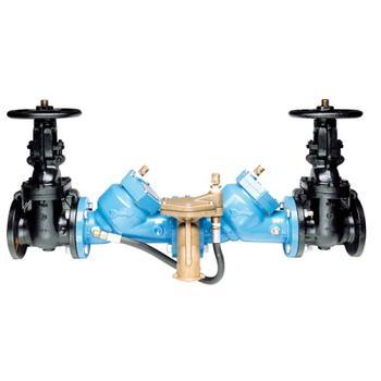 "Watts 0122807 Lead Free Cast Iron Reduced Pressure Zone Assembly 3"" (LF909-OSY-S-FDA)"