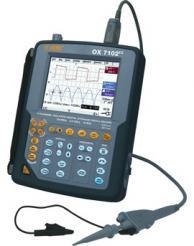 AEMC 2124.59 200MHz Hand-Held Oscilloscope Model OX7202III 200MHz (2x200MHz, Color, 50k memory, Harmonics, Recorder, Power)