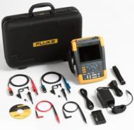 Fluke 190-202-AMS Scopemeter 200 Mhz With Scc Kit