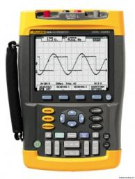 Fluke 190-502-AMS Scopemeter 500 Mhz 2-Channel With Scc Kit