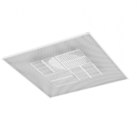 """Titus PAS-FR-12 Fire Rated Ceiling Diffuser 24"""" x 24"""" with 12"""" Inlet"""