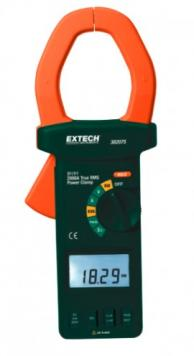 Extech 382075 True RMS AC/DC 3-Phase Clamp-on Power Analyzer, 2000A