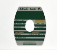 Asco 274173- M6 Retaining Plate Kit