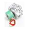 "Asco 8215G53-12VDC Aluminum Body 2-Way Solenoid Valve 1"" Normally Open 0-15psi 12VDC"